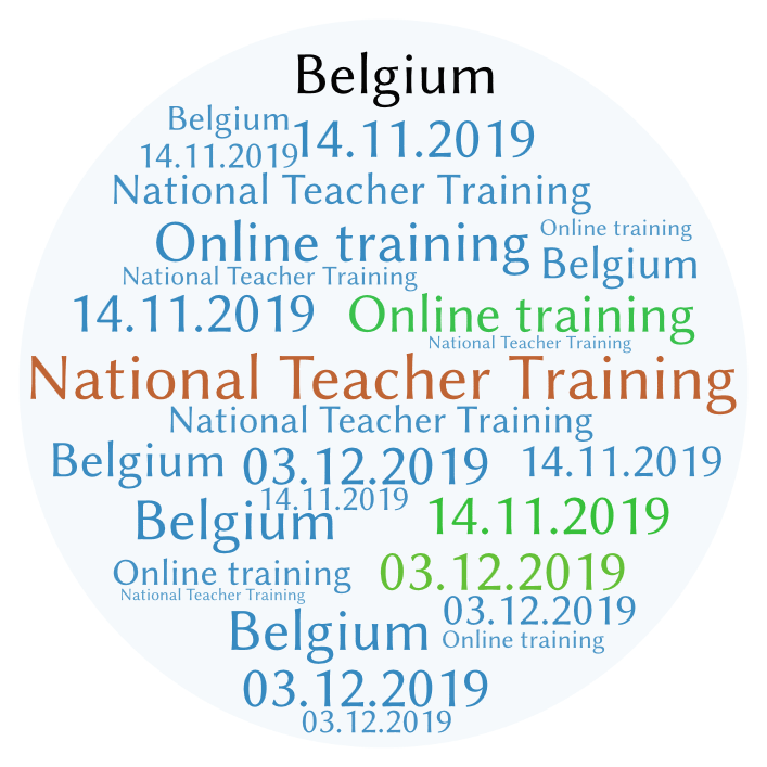 Take part in the National Teacher Training in Belgium